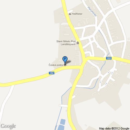 Pošta Staré Město pod Landštejnem, PSČ 37882