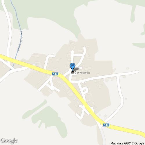 Pošta Chroboly, PSČ 38404