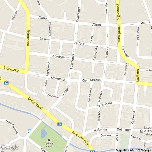 Pošta Jablonec nad Nisou 1, PSČ 46601