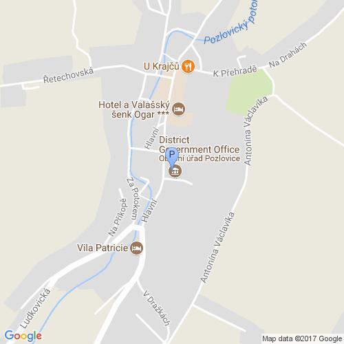 Pošta Pozlovice, PSČ 76399