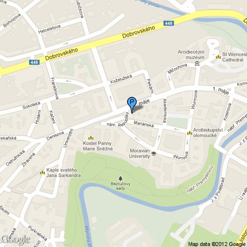 Pošta Olomouc 1, PSČ 77100